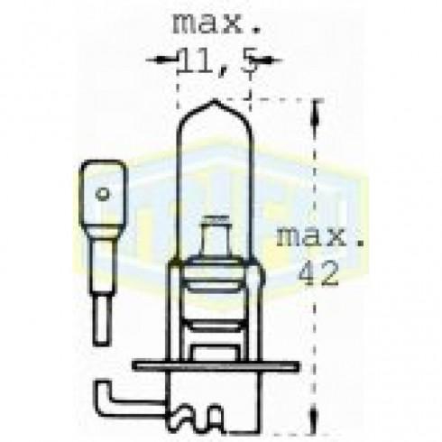ΛΑΜΠΑ H3 12V 55W ΙΩΔ Μ/ΚΑΛΩΔ